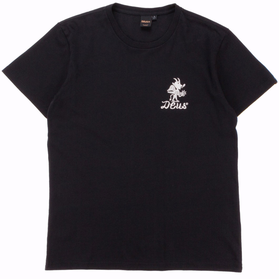 Deus Ex Machina Devil Address Tee Black