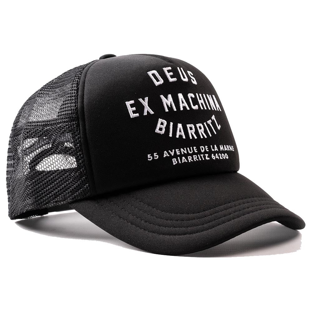 Deus Ex Machina Biarritz Address Trucker Cap Black