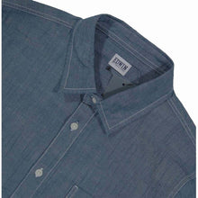 Load image into Gallery viewer, Edwin Simple Shirt Chambray Blue Rinsed