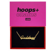 Load image into Gallery viewer, Hoops And Chains Goddess Necklace