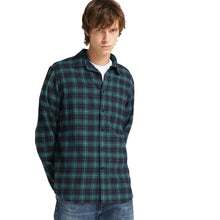 Load image into Gallery viewer, Edwin Don Shirt LS Greener Pastures/Navy