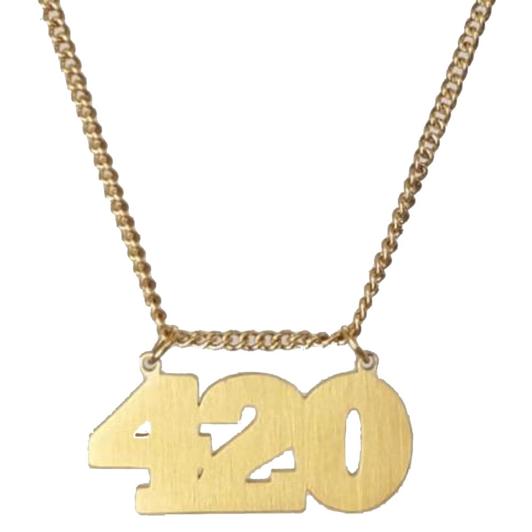 Hoops And Chains 420 Necklace