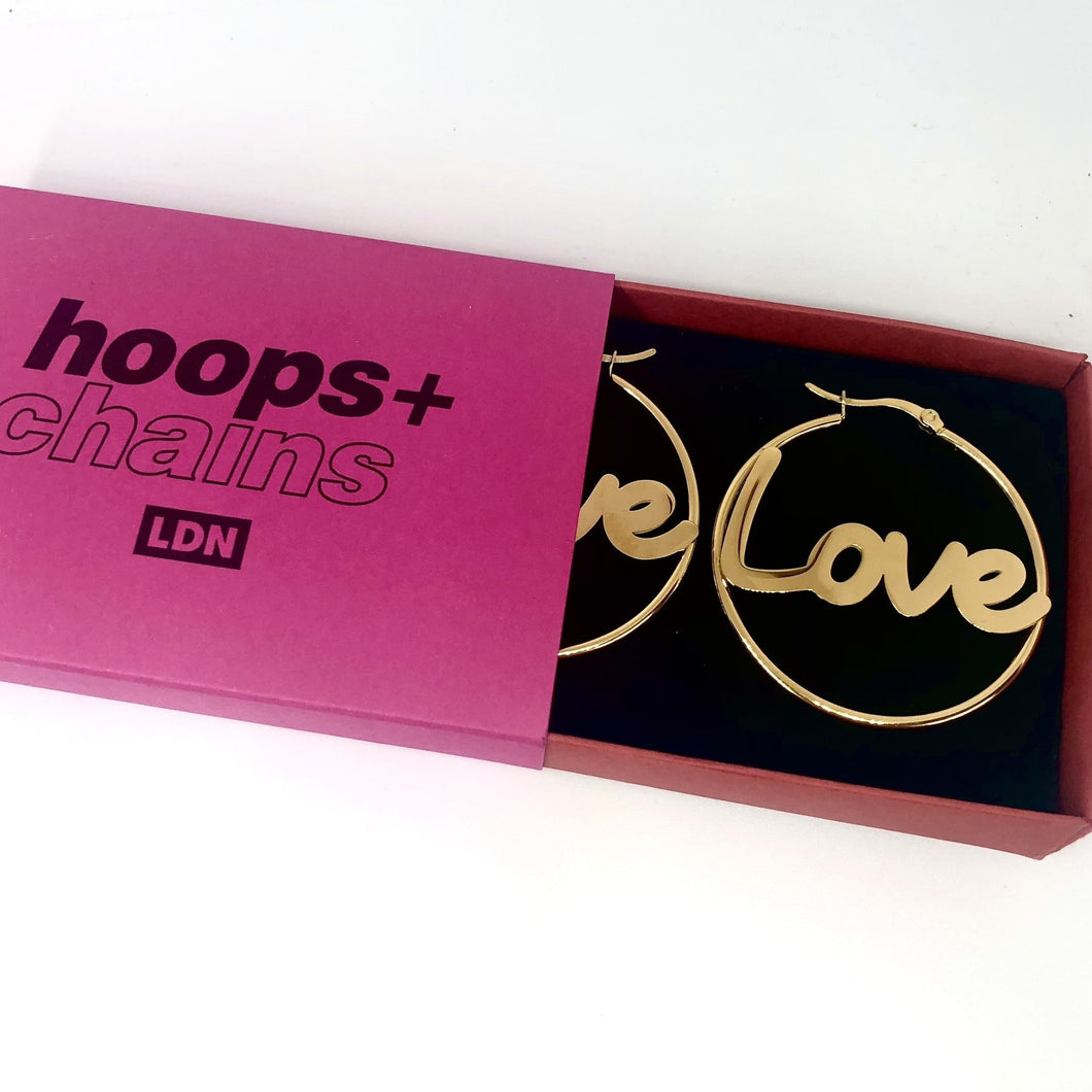 Hoops and Chains Love Hoops