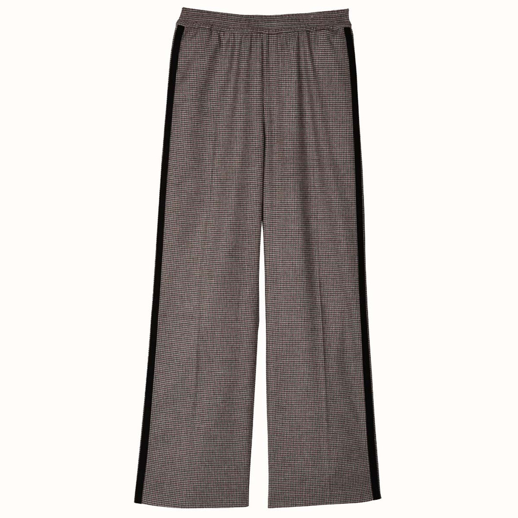 Leon & Harper Paolo Trousers Brown Check