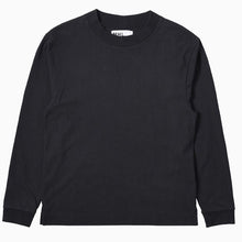 Load image into Gallery viewer, MHL Wide Crewneck Matt Cotton Jersey Black