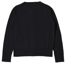 Load image into Gallery viewer, MHL W'Thermal Knit Cardigan Organic Wool Black