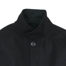 Load image into Gallery viewer, MHL Womens by Margaret Howell Coarse Wool Melton Jacket Black