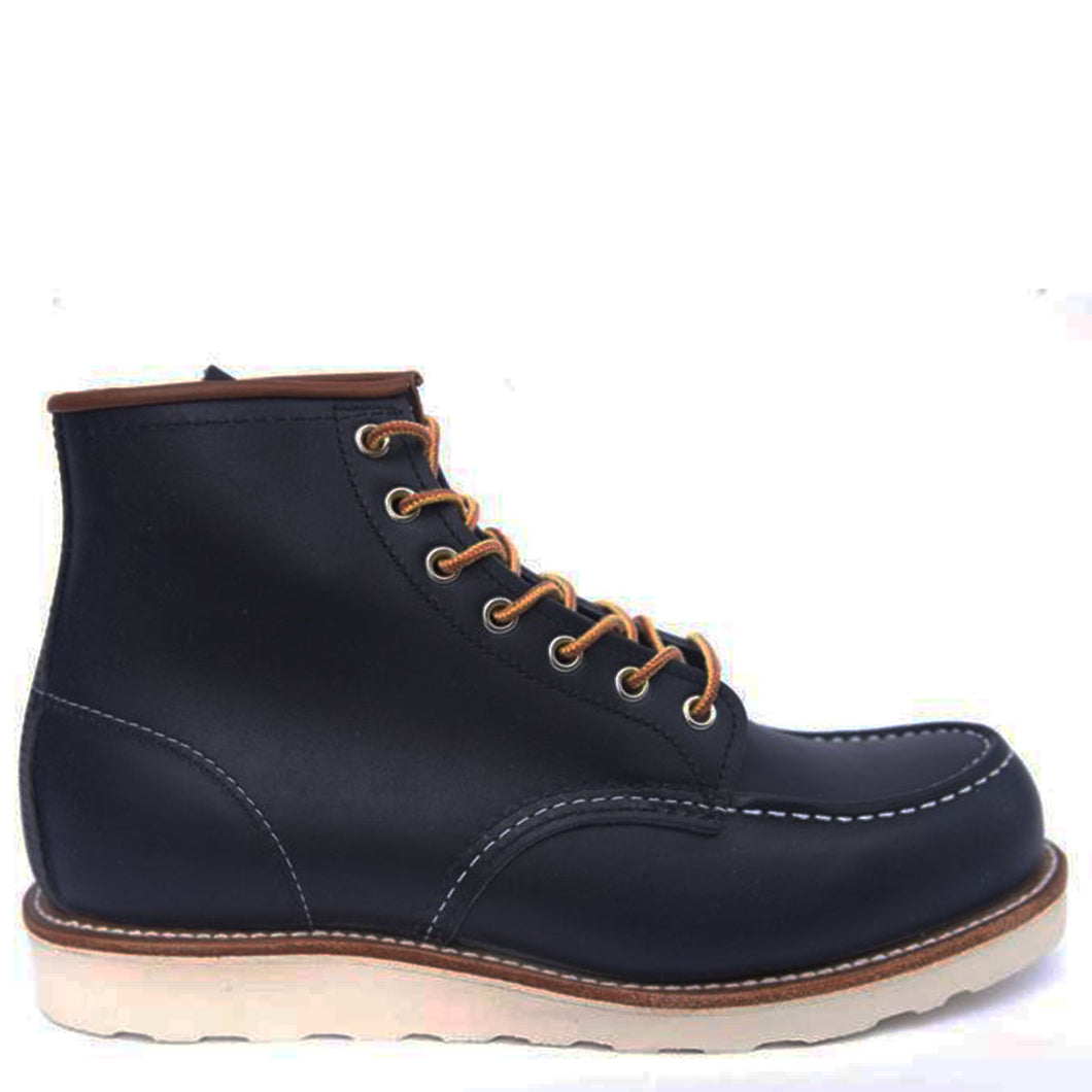 Red Wing Classic Moc Toe Navy Portage 8859