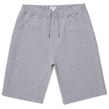 Load image into Gallery viewer, Sunspel Cotton Loopback Shorts Grey Melange