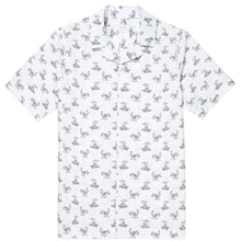 Load image into Gallery viewer, Sunspel Short Sleeve Shirt Sorimachi Cross-Word