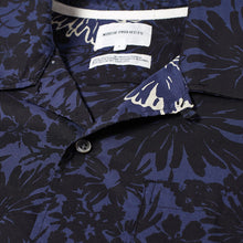 Load image into Gallery viewer, Norse Projects Carsten Flower Print Vacation Shirt Twilight Blue