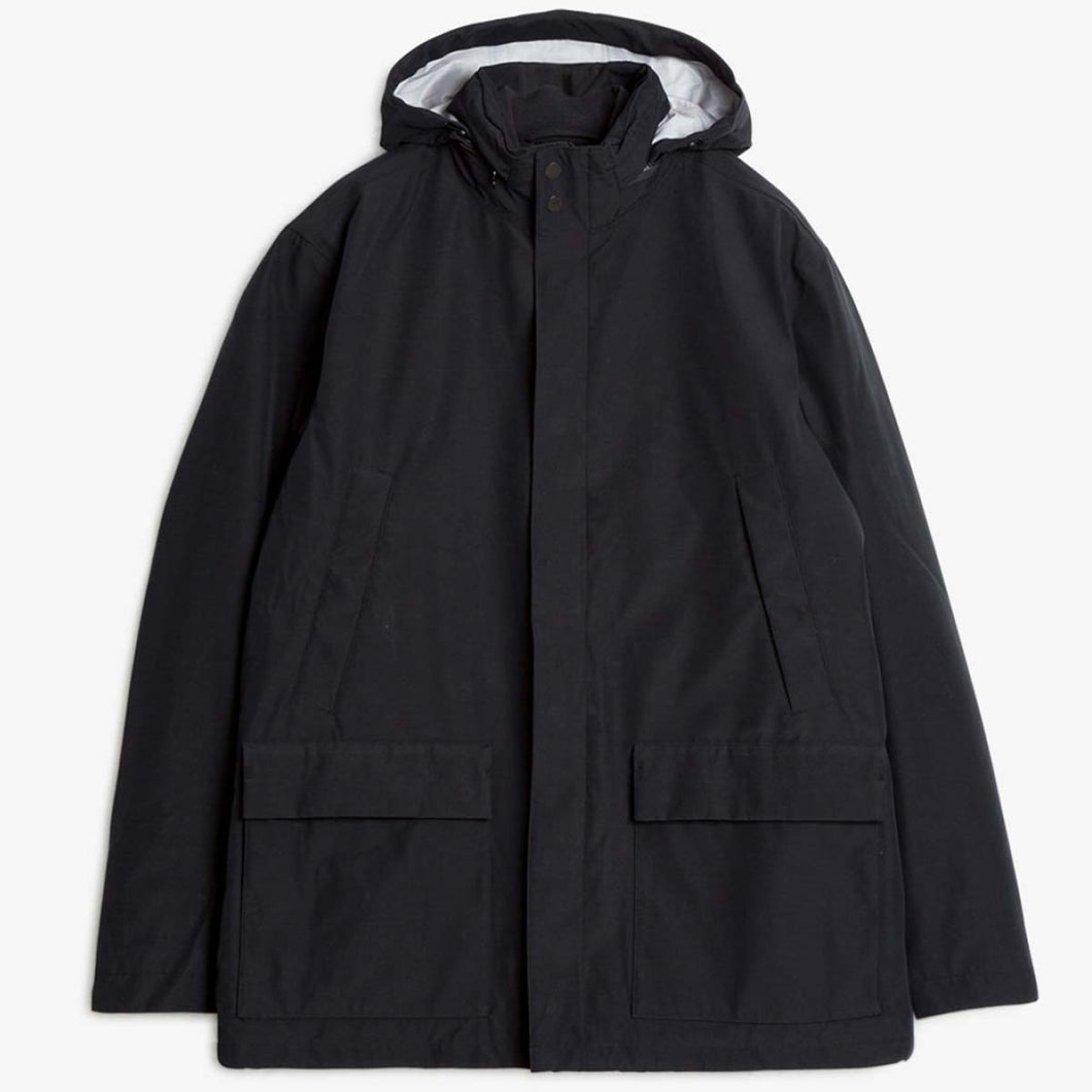 Norse Projects Skipper 3 Layer Jacket Black