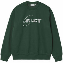 Load image into Gallery viewer, Carhartt WIP Orbit Sweatshirt Treehouse  / White