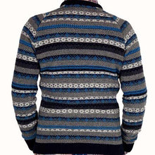 Load image into Gallery viewer, Norse Projects Birnir Multi Knit Jumper Navy