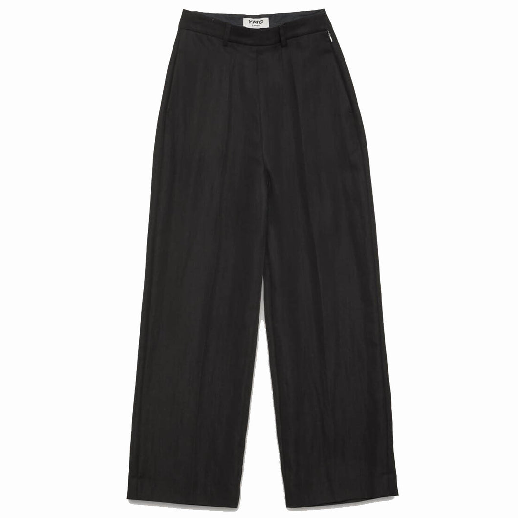 YMC Victoria Tencel Twill Trousers Black