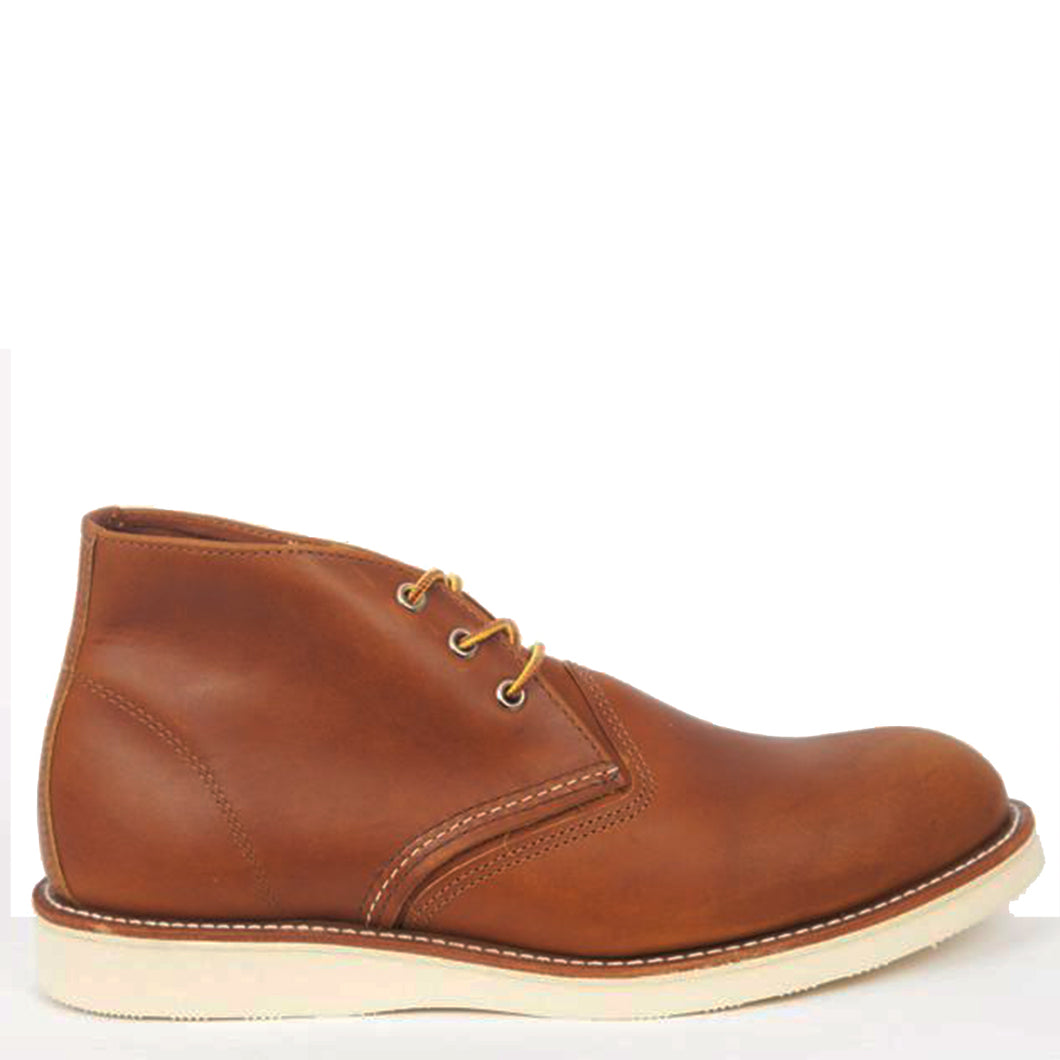 Red Wing Chukka Boots Tan 3140