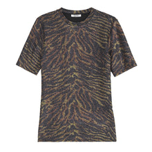 Load image into Gallery viewer, Ganni Lurex Jersey T-Shirt