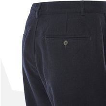 Load image into Gallery viewer, Universal Works Military Chino Wool Marl II Navy
