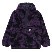 Load image into Gallery viewer, Carhartt WIP, W' Hooded Loon Liner, Camo Blur Purple