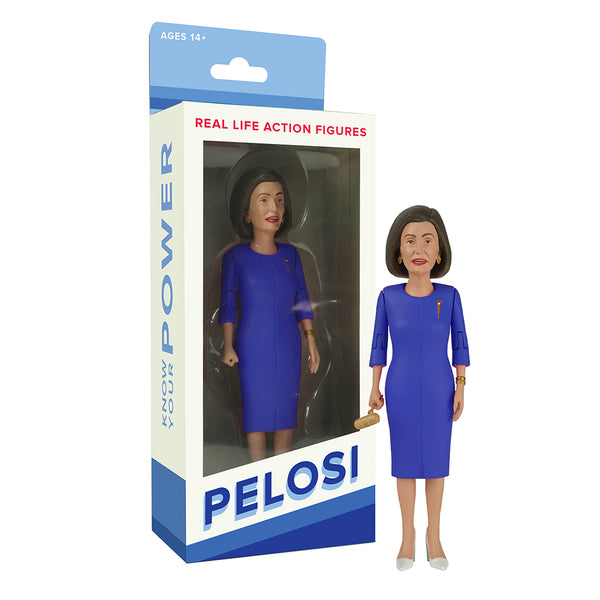 Pelosi Action Figure - Limited Edition Deep Blue