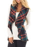 Kayladress Lush Plaid Jacket Vest with Pockets