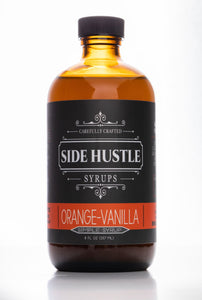 Orange-Vanilla Simple Syrup - 8oz