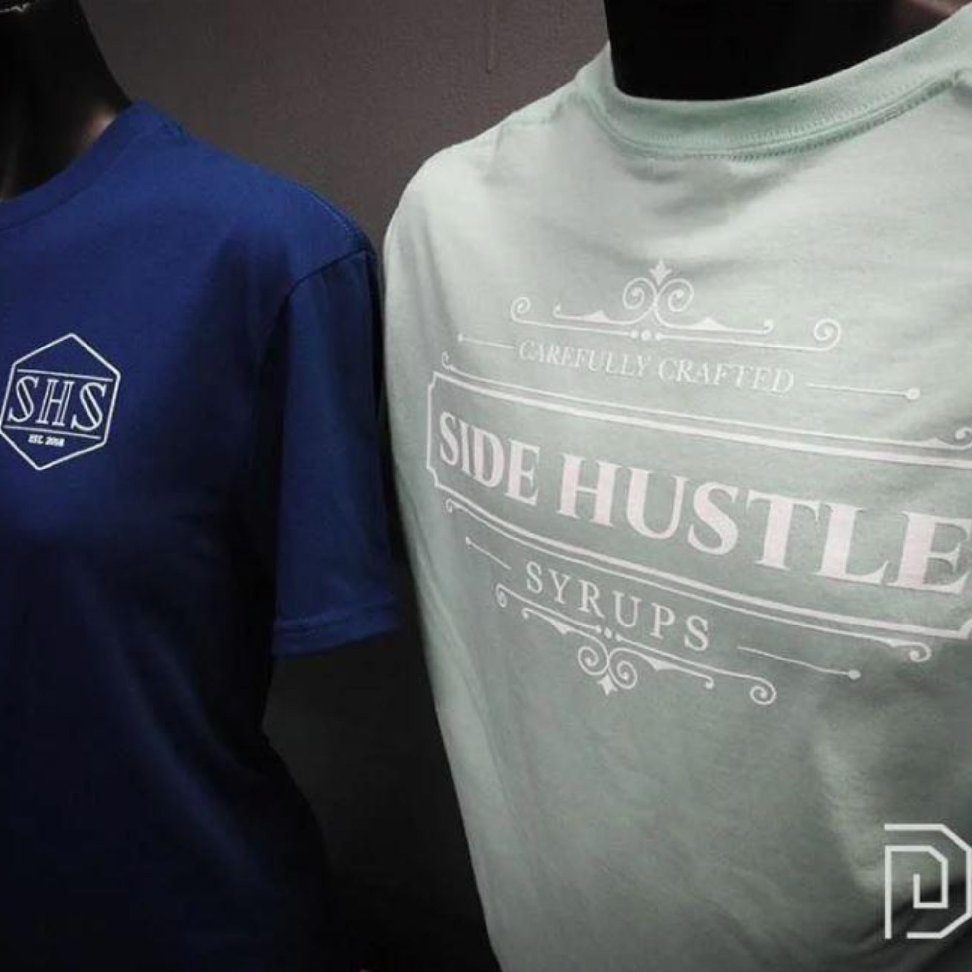 Side Hustle Crest T-Shirt