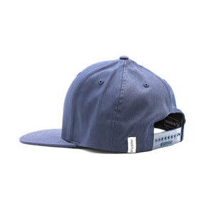 Blue Flat Bill Hat