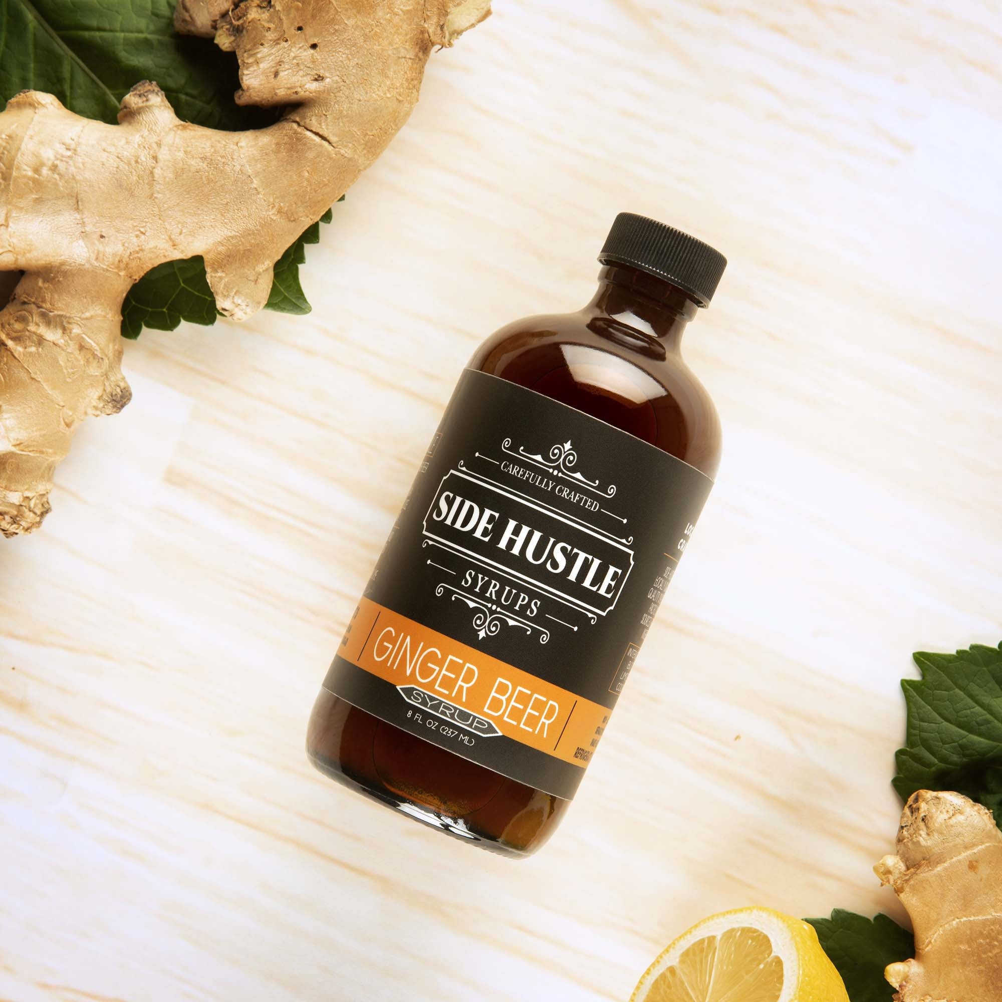 Ginger Beer Syrup - 8 oz
