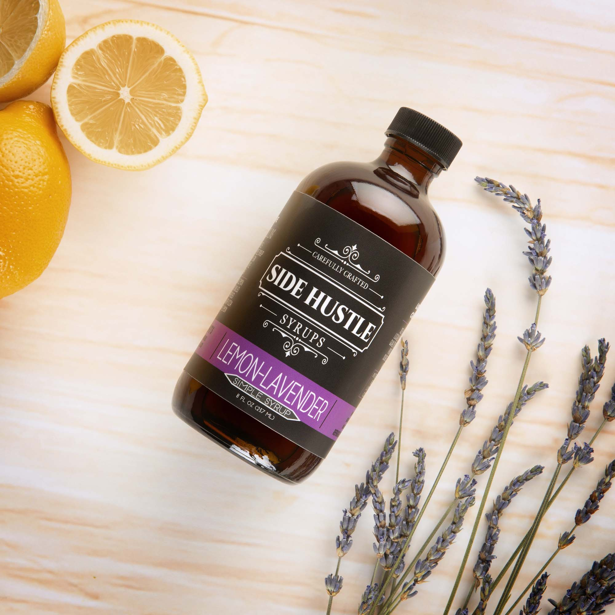 Lemon-Lavender Simple Syrup - 8oz