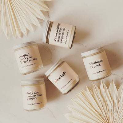 Ginger June Candles $24