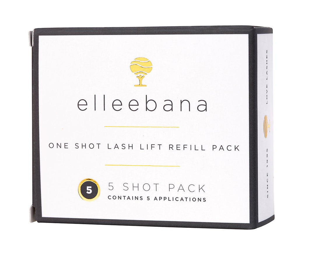 Lash lift refill packs