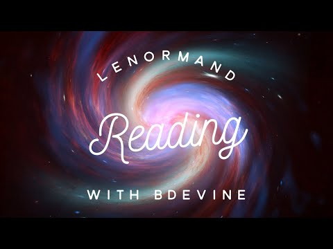 8. A Huge Lenormand Digital Reading-By BDevine Now $85