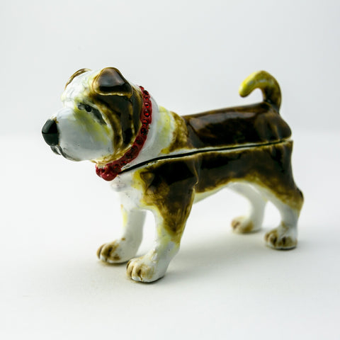 French Bulldog Dog Trinket Box