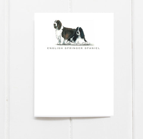English Springer Spaniel Stationery