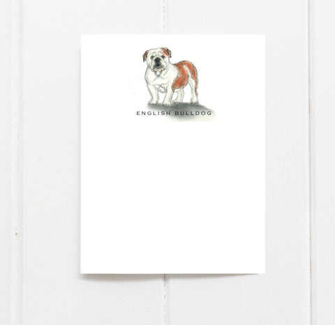 English Bulldog Stationery