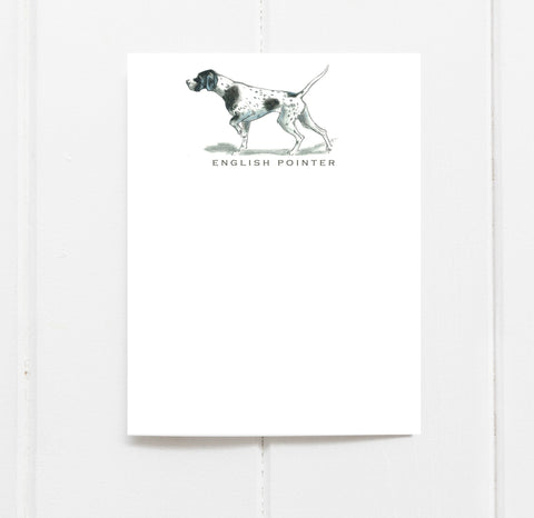 English Pointer Stationery