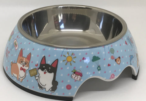 Corgi-licious Small Dog Bowl