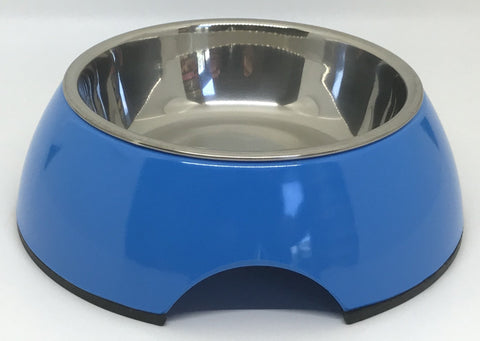 Blue Small Dog Bowl