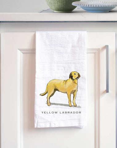 Labrador (Yellow) Retriever Bath Hand Towel