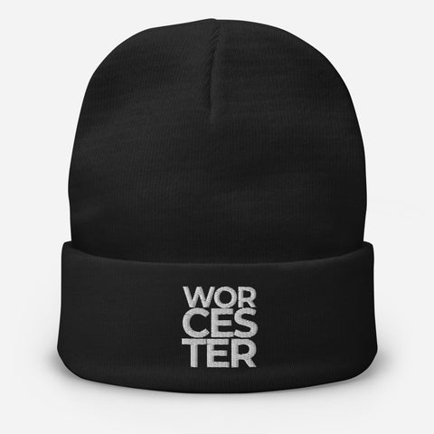 Worcester Embroidered Beanie