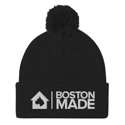 Boston Made Pom-Pom Beanie