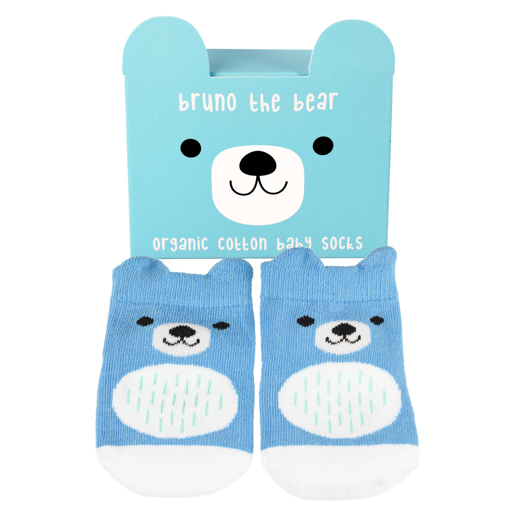 Bruno The Bear Socks