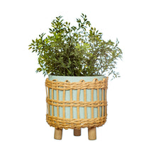 Load image into Gallery viewer, Leggy Woven Planter