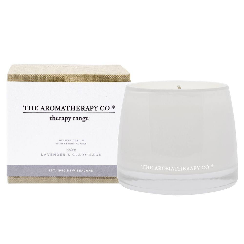 Aromatherapy Co. Therapy Candle Lavender and Clary Sage