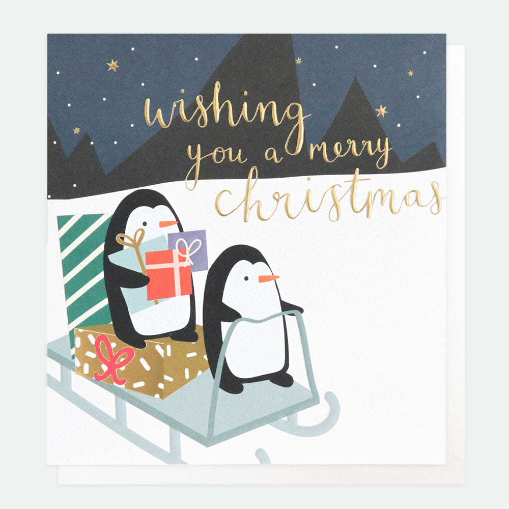 Scandi Penguins Charity Card Pack