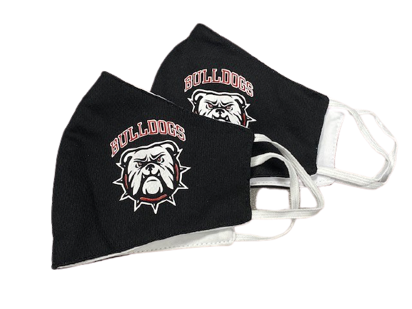 Georgia Bulldogs Nano Tech Fabric Mask, Pack of 2 Masks