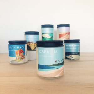 Getaway Collection 8 oz Medium Jar Candle - 6 pack