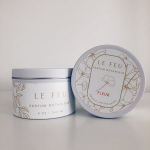 Le Feu Collection 6 oz Medium Tin Candle - 6 pack