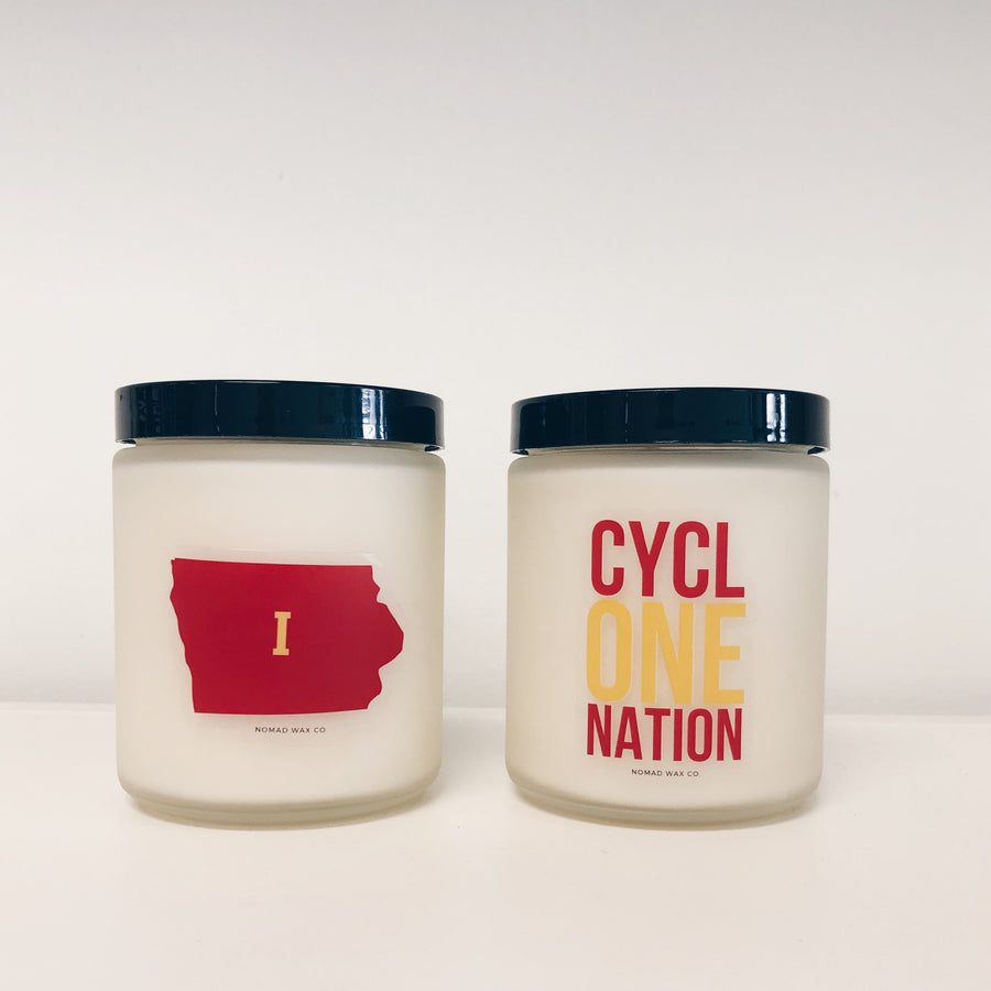 Iowa State Vegan Scented Soy Candle - Case of 6